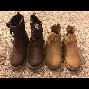 Old Navy Boots - 2 Pair!